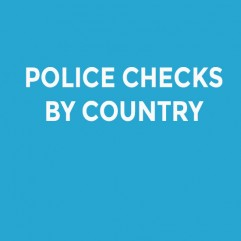 POLICE CHECKS BY COUNTRY